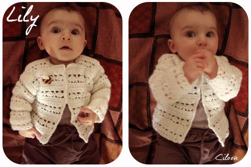 Lily en petit gilet bourdon