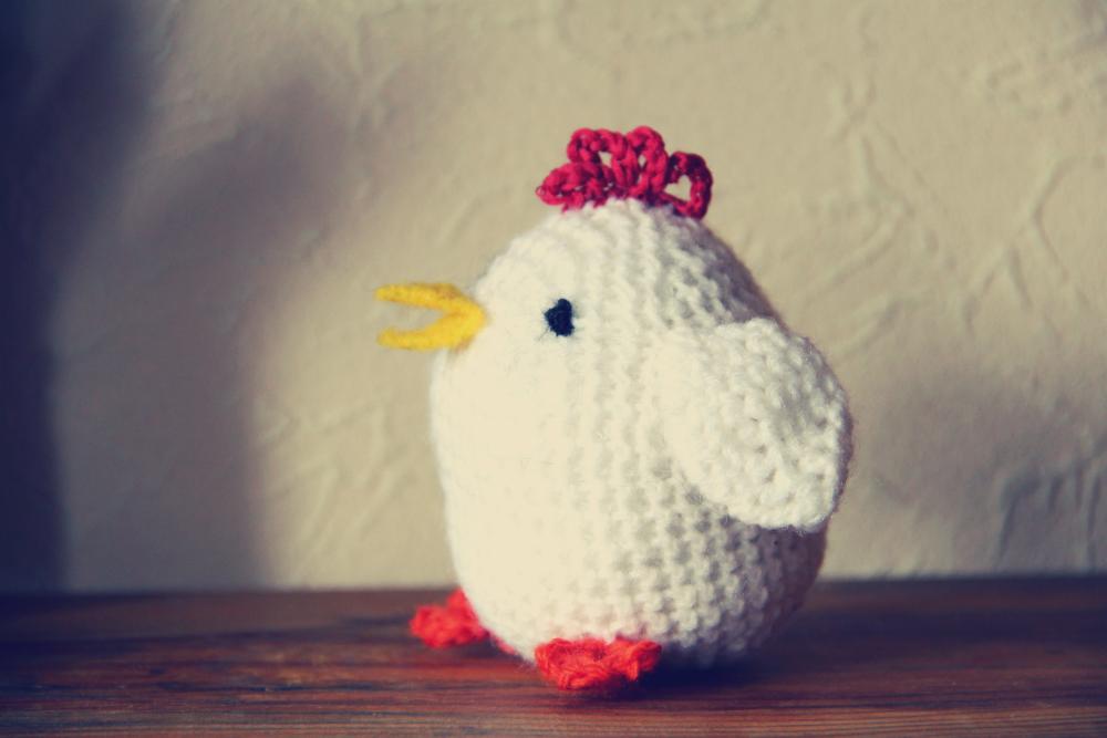 Cocotte au crochet