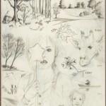 Mon carnet de dessin : Moleskine #1