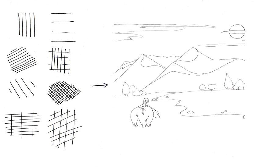 hachures-coloriage-ours-dans-la-prairie004