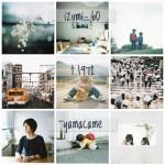 Mes petits comptes Instagram – comptes japonais