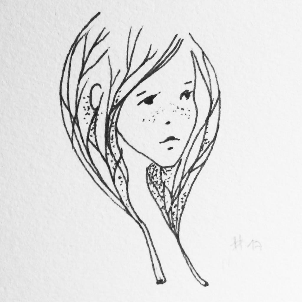inktober-2016-tree-girl