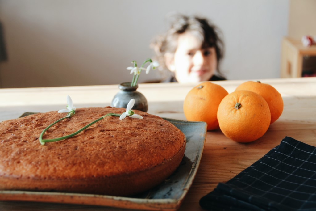gâteau à l'orange de Manon