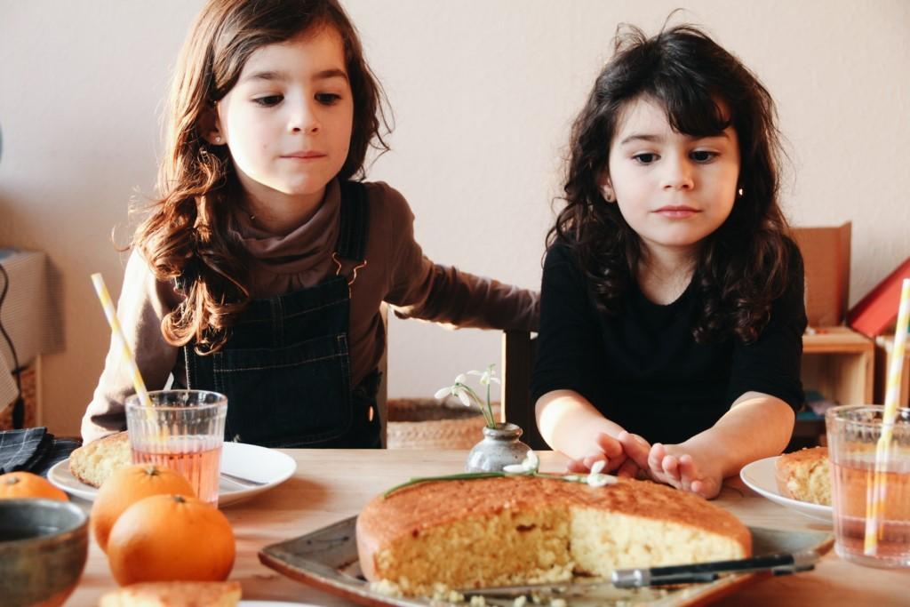 Gâteau à l'orange de Manon - dégustation